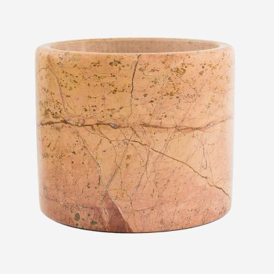 Pink Marble Large Pot