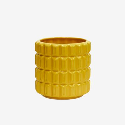 Sunset Medium Pot Spectra Yellow